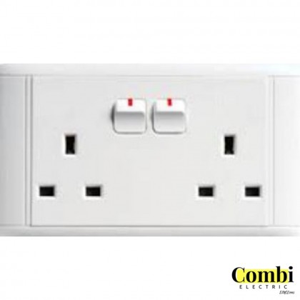 hager System 10088 10AX 13A / 15A  Switched Socket Outlet