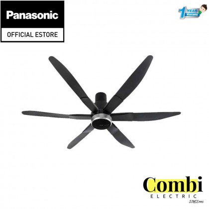 """Panasonic (70"""") Ceiling Fan 6 Blade Canopy Type F-M18LY(Canopy)&(long Pipe)"""
