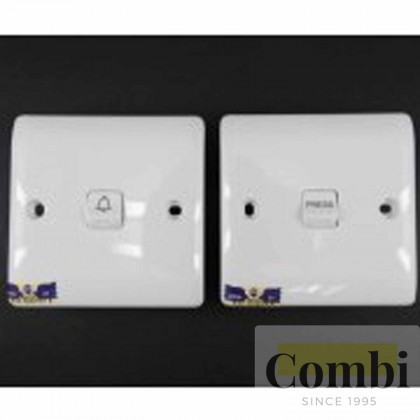 hager System 8000 10A Bell Switches Single Pole